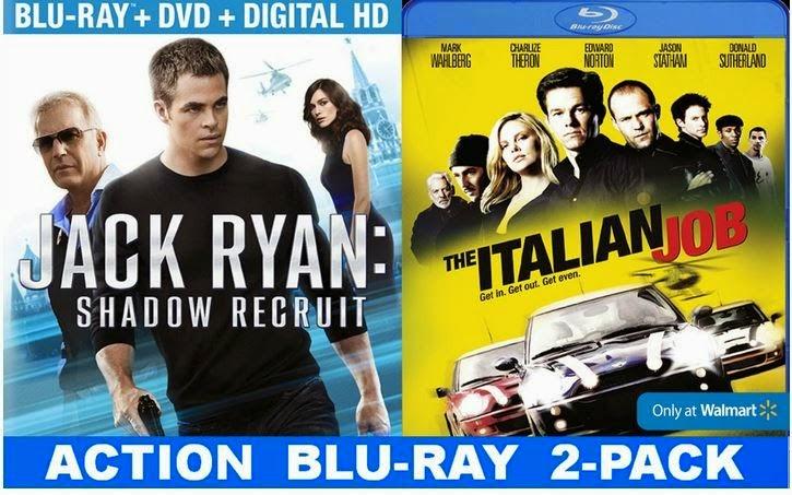 Blu-ray, DVD, Jack Ryan, Shadow Recruit, Chris Pine, Kevin Costner, Keira Knightley, Kenneth Branagh