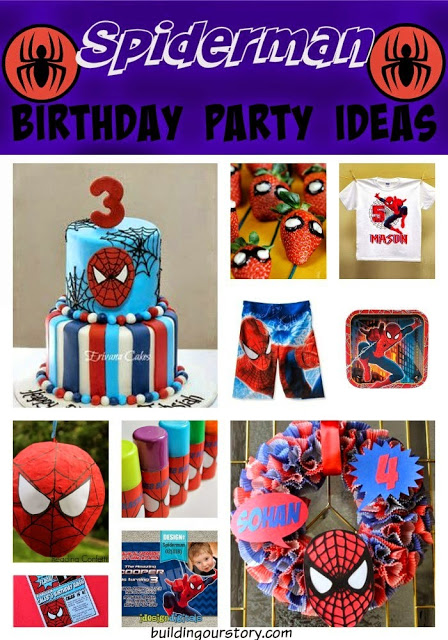 spiderman birthday party ideas!