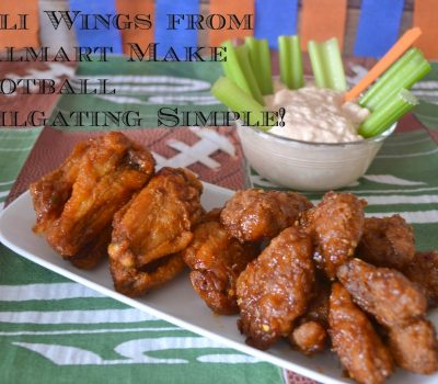 #Ad: Score the first Touchdown of the Game with Deli Wings from Walmart