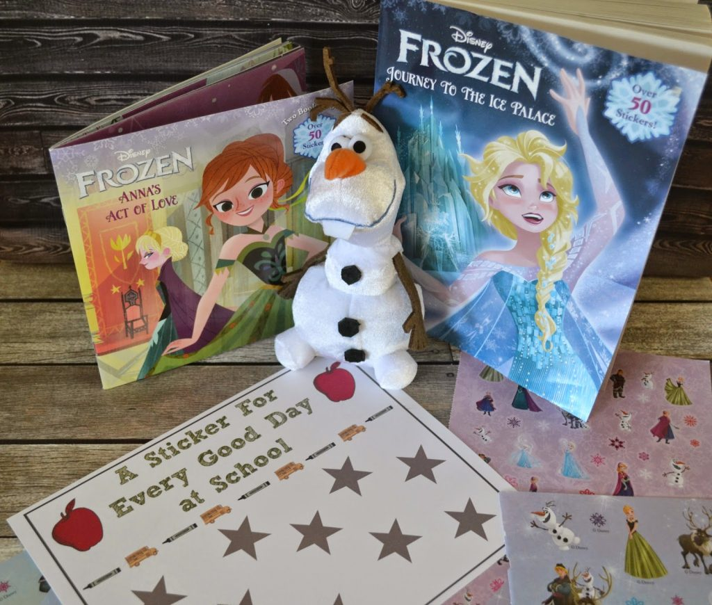 FROZEN, FROZEN the movie, Walmart toys, Olaf toy, Elsa toy.  Behavior Chart for Preschoolers.  Free Printable Behavior Chart.  Sticker Chart for Back to School