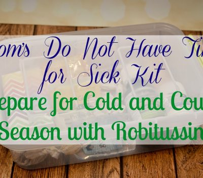 Cold, Cough and Flu Season is Coming – Prepare With Robitussin