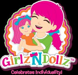 Meet Cameron from GirlzNDollz GirlzNDollz Totz and Girlz.  Dolls for girls.