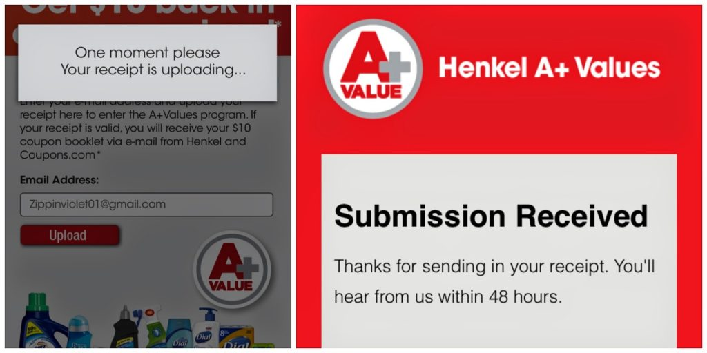 A Plus Values, A+ Values, Henkel Promotion, Henkel Coupons, Dial Coupons, Purex Coupons, Grocery Coupons, Back to School Savings, Back to College Savings