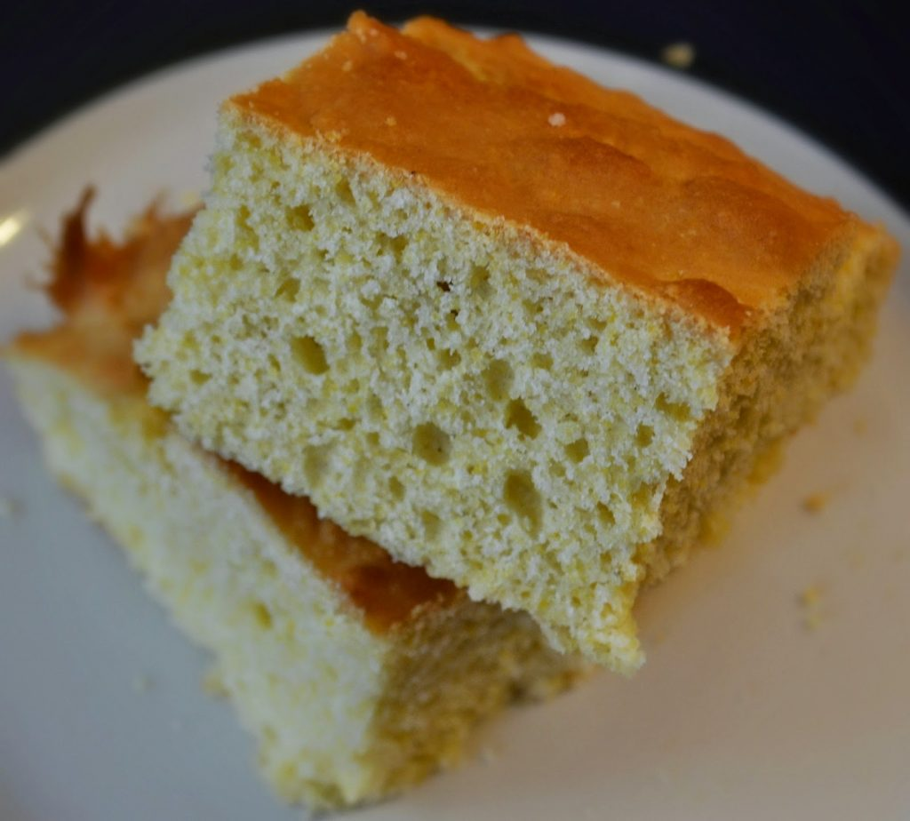New England Cornbread #Recipe.  Monk Fruit In The Raw.  Zero Calorie Sweetener.  Cornbread recipe.  Easy cornbread recipe.