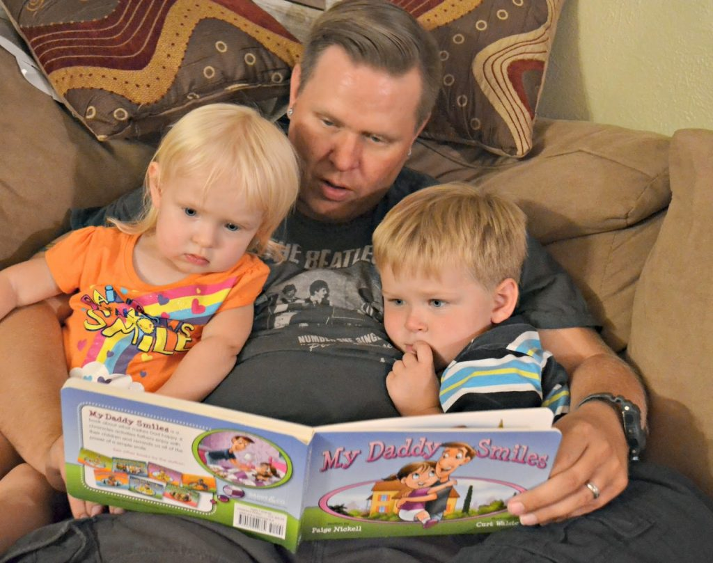 My Daddy Smiles:  Daddy & Company Book #giveaway