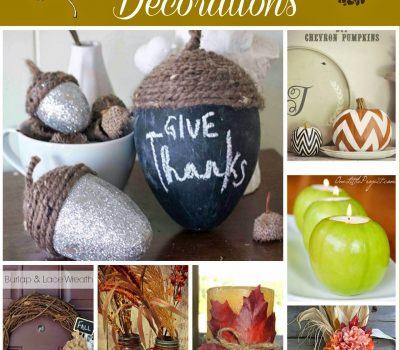 Harvest Home Decor #DIY Ideas