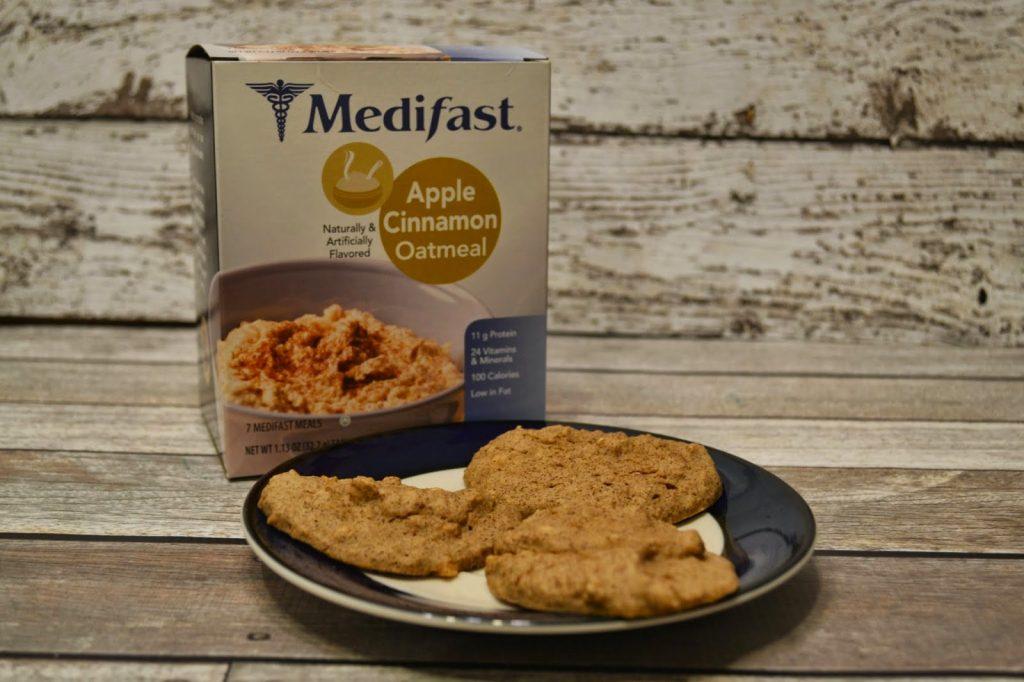 Apple Cinnamon Oatmeal Cookie #Recipe - Medifast - Week 9.  Medifast Recipes.  Medifast Diet.  5-1 meal plan.  Medifast.  Weight Loss plans.  Medifast Oatmeal.  Recipe for Medifast Oatmeal.