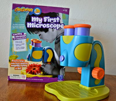 GeoSafari® Jr. My First Microscope {Review and #Giveaway}