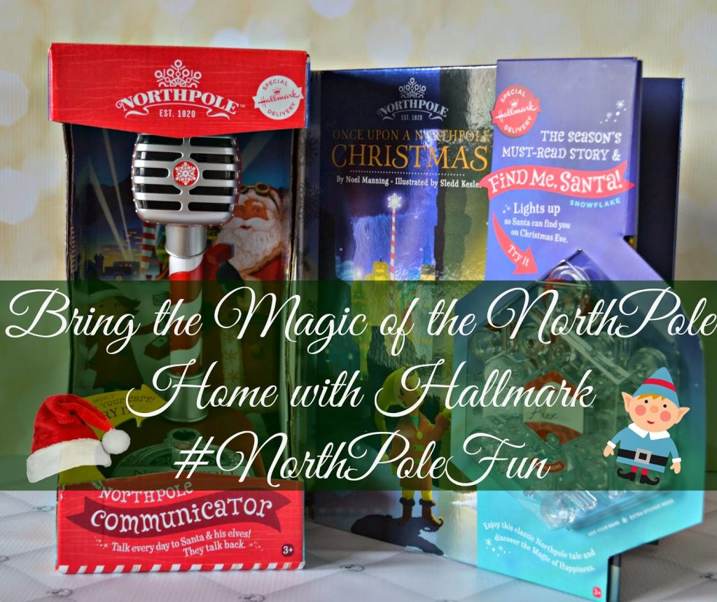 Bring the Magic of the NorthPole Home with Hallmark Hallmark book.  Once upon a northpole Christmas book from Hallmark. Hallmark Northpole, Northpole toys, Northpole gifts, Christmas gifts.