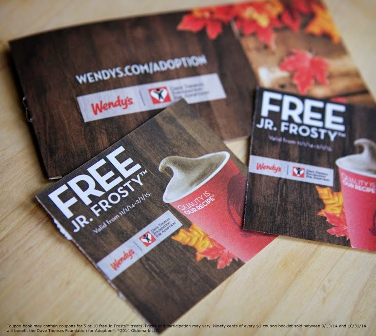 Wendy's® Frosty Faces Support Adoption - #Frosty4Adoption #Ad The Dave Thomas Foundation for Adoption.  Adoption Stories.  Coupons for Frosty's  Wendy's