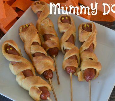 Mummy Dogs for Halloween Fun!