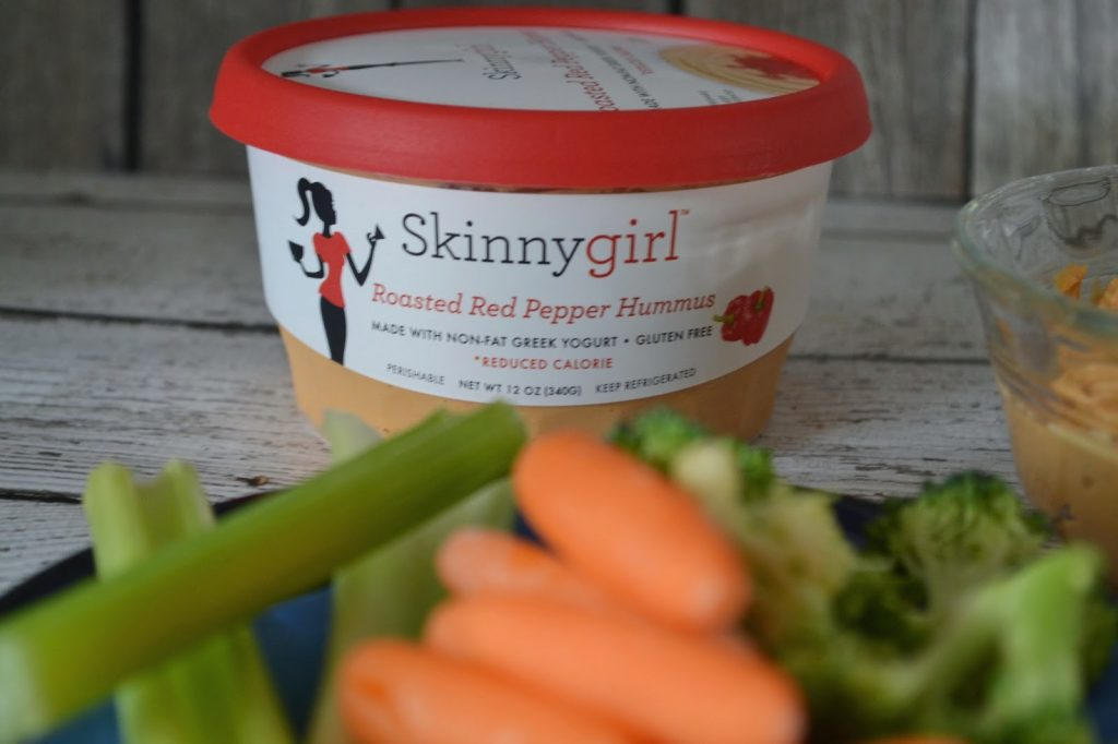 Perfect Dip with Skinnygirl Roasted Red Pepper Hummus #NowThisIsSkinnyDipping Healthier options for dip. Hummus recipes