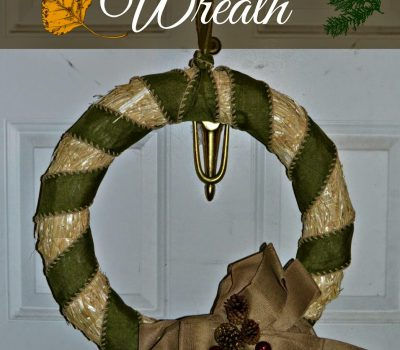 Harvest Door Wreath #DIY