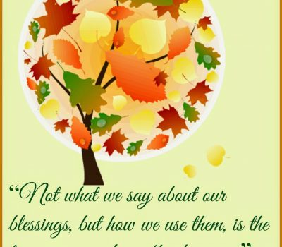 Give Thanks – Give Love – Thanksgiving