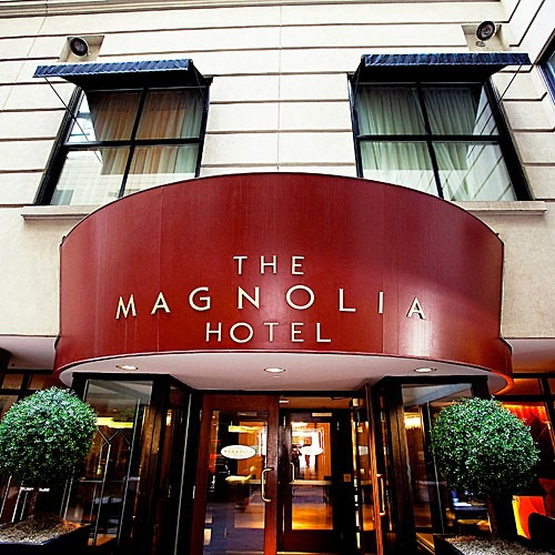 The Magnolia Hotel Denver.  Hotels in Downtown Denver.  Magnolia Hotel.  Magnolia Hotel Downtown Denver.