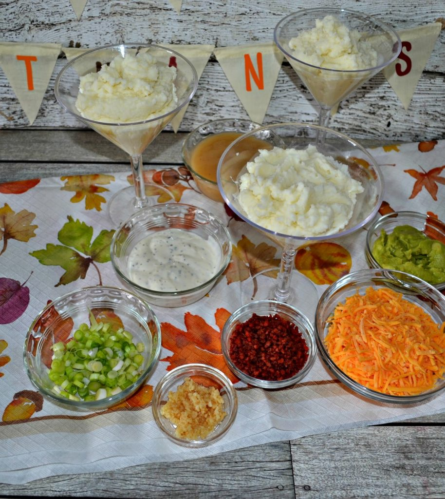 Holiday Party Mashed Potato Bar with Printable Table Tents ...