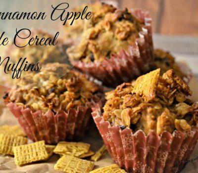 Cinnamon Apple Life Cereal Muffins