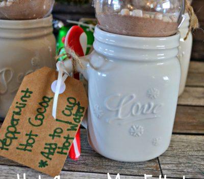 Hot Cocoa Mix Ornaments – Holiday Gift Idea