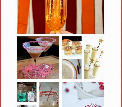 New Years Eve Cocktails – Glitter & Sass