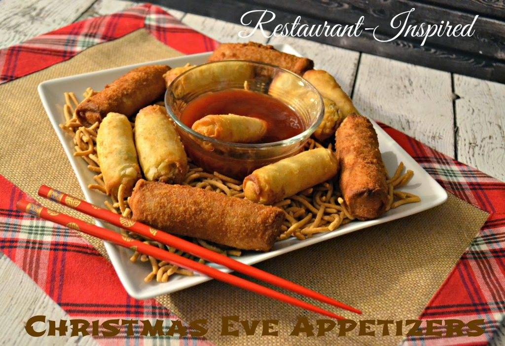 Authentic, Asian, Restaurant-Inspired.  Christmas Eve Appetizer ideas.  Appetizers for New Years Even.  Easy Appetizers to share. Restaurant-Inspired Christmas Eve Appetizers