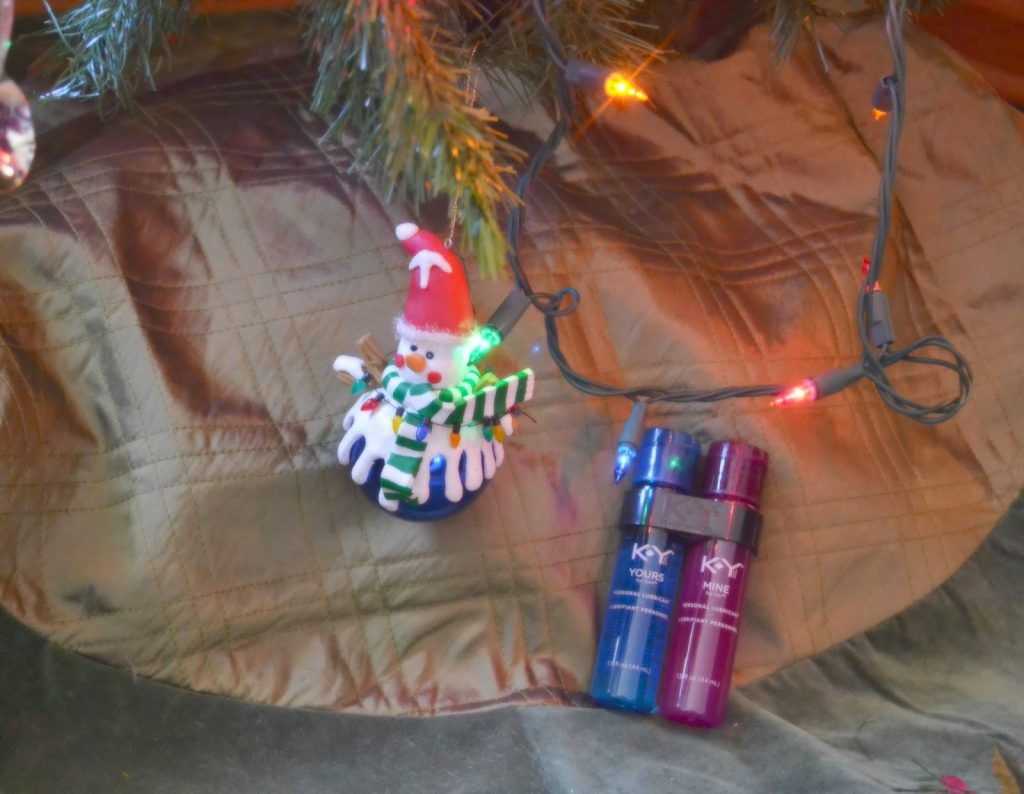 Best Lubricant, Yours and Mine, Best Lube, Personal Lubricant, Water based lubricants, Lubricants for women, Date Night, Couples, Romantic, Try something new, Spice things up, His and Hers, His + Hers Candy Cane White Russian Drink Recipe. Holiday Drinks for Date night