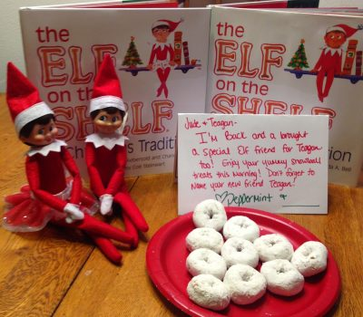 Elf on the Shelf Fun – With 2 Elves