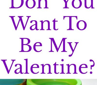 "Play-Doh Valentine – ""Doh"" You Want To Be My Valentine? Printable"