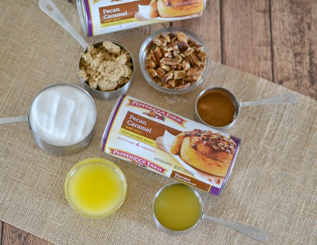 Cinnamon Rolls, Sweet Rolls or Easy Breakfast Ideas.  Easy Monkey Bread Recipe.  Orange Pecan Caramel Monkey Bread.  Pecan sweet rolls.