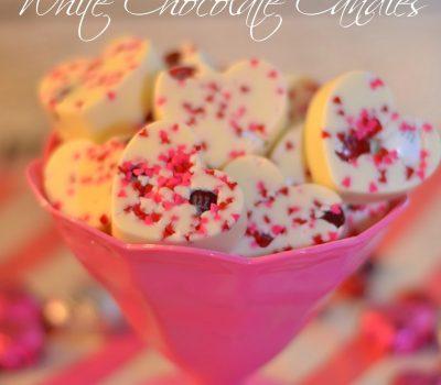 Red Velvet White Chocolate Candies