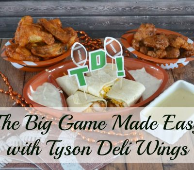 #Ad Game Time Made Easy With Tyson Deli Wings
