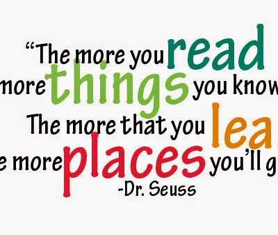Remember – I love to Read!