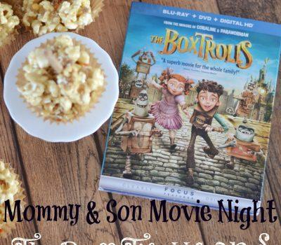 The Boxtrolls Movie Night:  Caramel Marshmallow Popcorn Pops #recipe