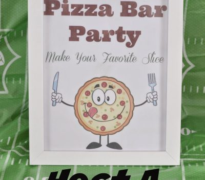 Host a Pizza Bar – Free Printables