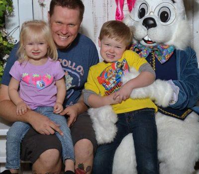 Easter Bunny Visit 2015