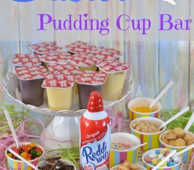 Easter Pudding Cup Bar