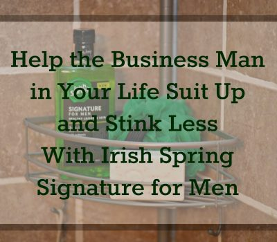 Men, Suit Up…and Stink Less!