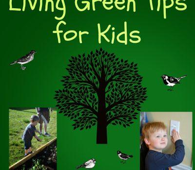 6 Living Green Tips for Kids