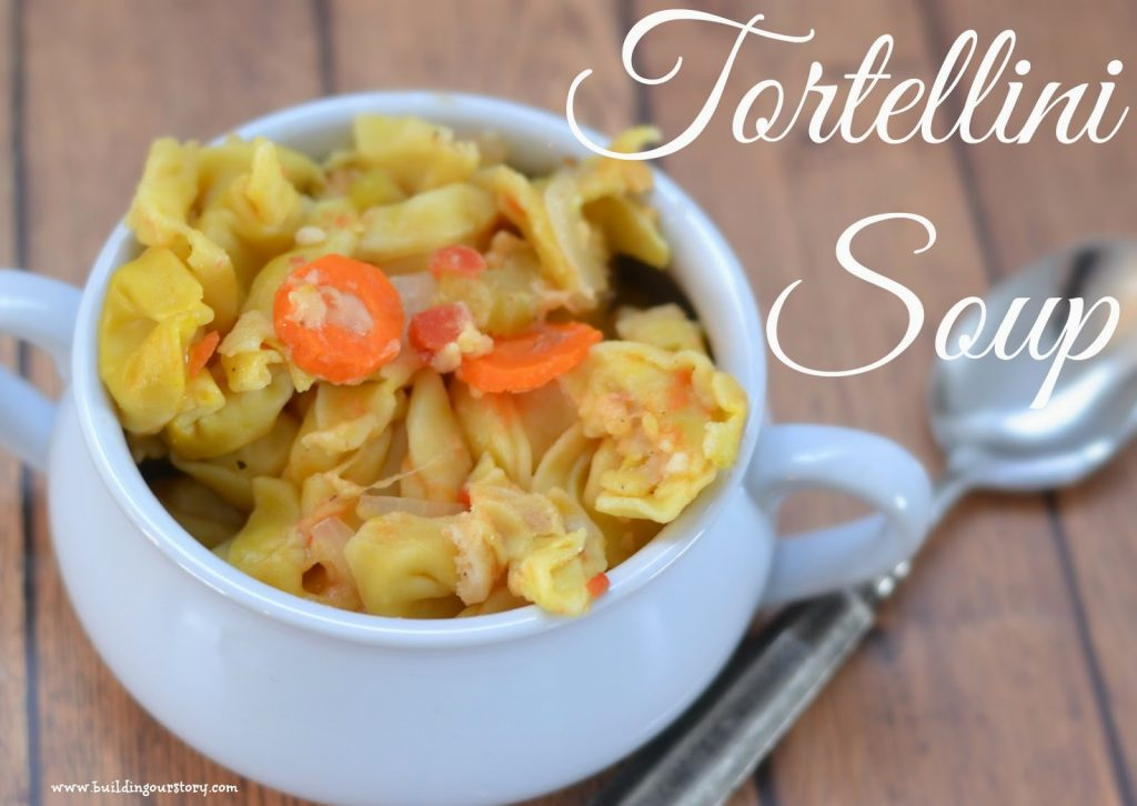 Tortellini Soup #Recipe.  Crock Pot Tortellini Soup #Recipe.  Stove Top Tortellini Soup #Recipe.  Tortellini soup recipe.  Easy soup recipe.