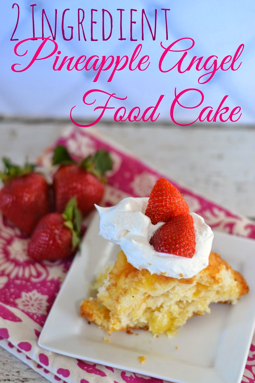 Angel Food Cake Mix Crushed Pineapple Weight Watchers