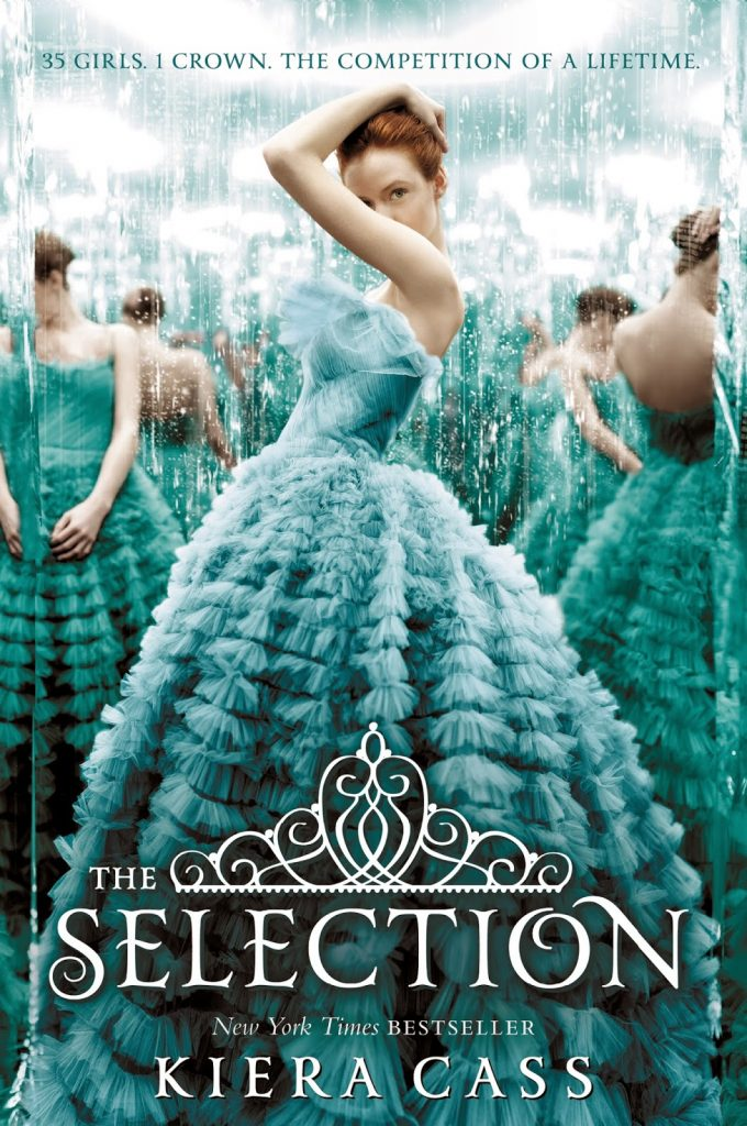 The Selection By Kiera Cass Book Review, The Selection Series, The One, The Heir, The Elite, Kiera Cass Author, Books for Young Adults.