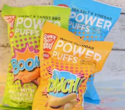 Snack Out Loud POWER PUFFS and No Melt Downs {Giveaway!}