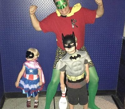Celebrating the Superhero & Anchor In Our Home