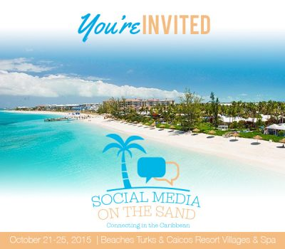 Beaches, Blue Water and Social Media