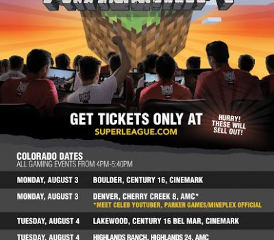 MINECRAFT at the Theater – Super League Gaming in #Denver – {Giveaway}