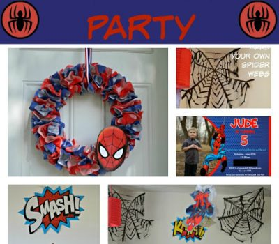 A Spidery Spider-Man Birthday Party