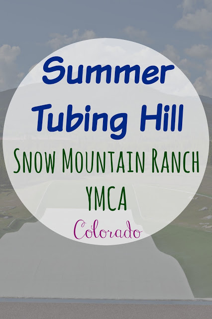 Summer Tubing Hill - Snow Mountain Ranch Winter Park Colorado, summer tubing hill Winter Park Colorado, things to do in Colorado, Mountain trips in Colorado, family activities in Colorado, Snow Mountain Ranch YMCA