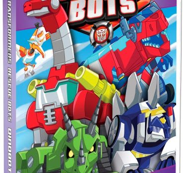 TRANSFORMERS RESCUE BOTS: Dinobots DVD  {Review & Giveaway}