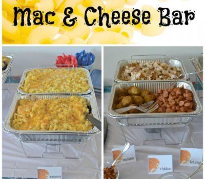Create A Mac and Cheese Bar