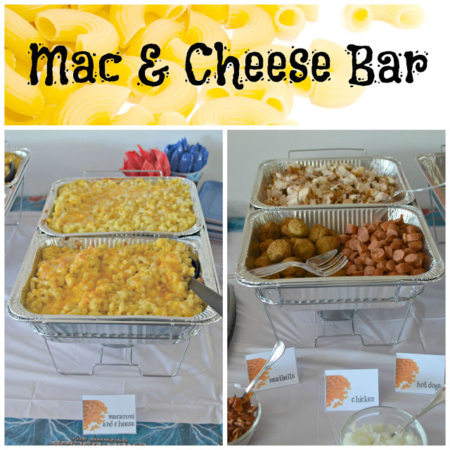 Create A Mac and Cheese Bar, Mac and Cheese Toppings Bar, Mac and Cheese Bar, Homemade Mac and Cheese recipe, How to create a Mac and Cheese bar, party food ideas