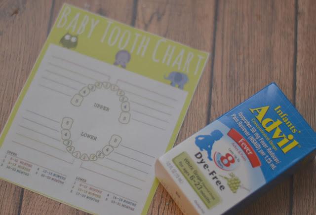 Teething tips, Teething Isn't For Babies Gift Basket, creative baby shower gifts, Teething truths, #TeethingTruths, Baby Teeth Chart, Baby teething chart, free baby teeth printable, Teething chart